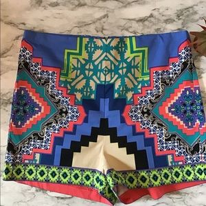 Flying Tomato multi color high waist shorts